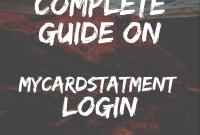 MyCardStatement Login