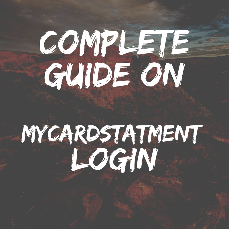 MyCardStatement Login
