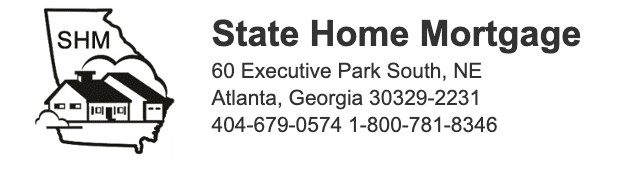 State Home Mortgage login