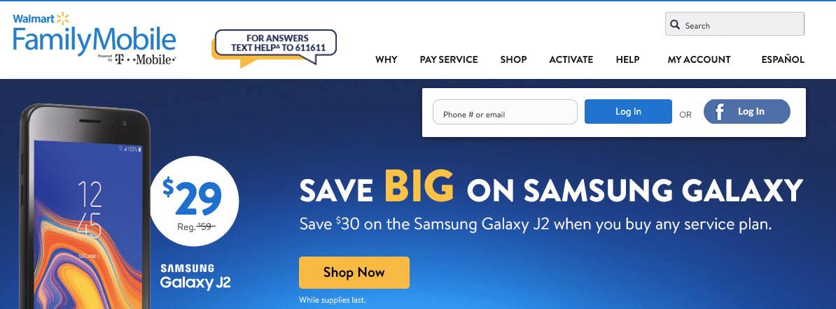 MyFamilyMobile – Walmart My Family Mobile Pay @ MyFamilyMobile.com