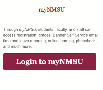 MYNMSU Login – New Mexico State University Student Canvas Sign in