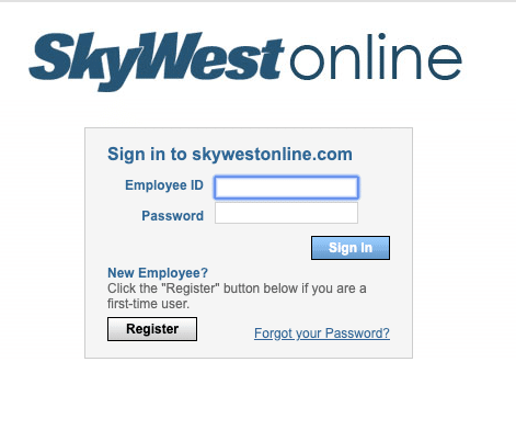 SkyWestOnline.com Login