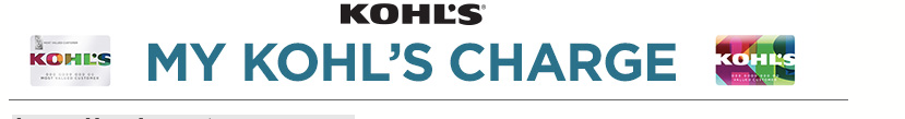 MyKohlsCharge Login – mykohlscharge.com My Kohl's Charge Payment