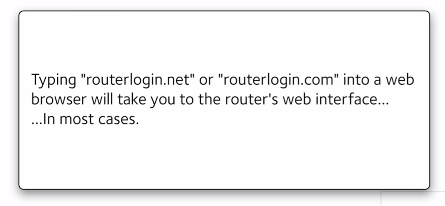 Netgear Router Login Password