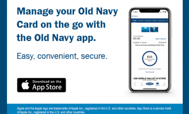 Old Navy Consumer Credit Card Login-Register your card