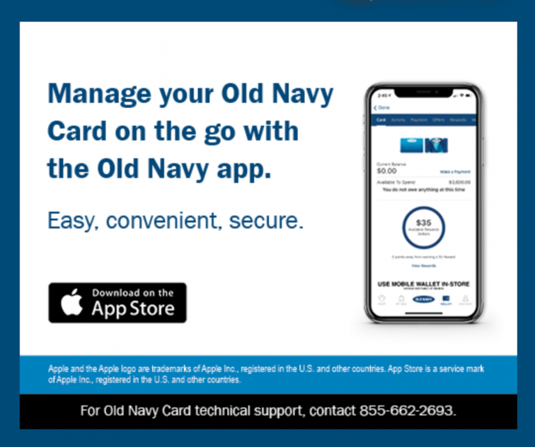 Old Navy Credit Card Login – oldnavy.com Account Sign in