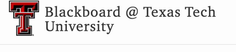 Blackboard ttu Login – Texas Tech Blackboard Sign in Guide