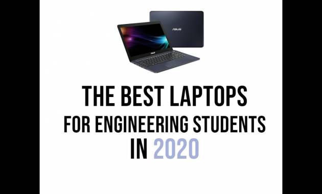Best Laptops for Engineering Students in 2020