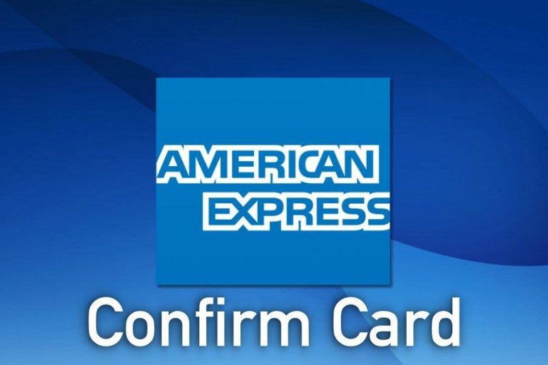Quick Guide: Americanexpress AMEX Confirm Card Activation