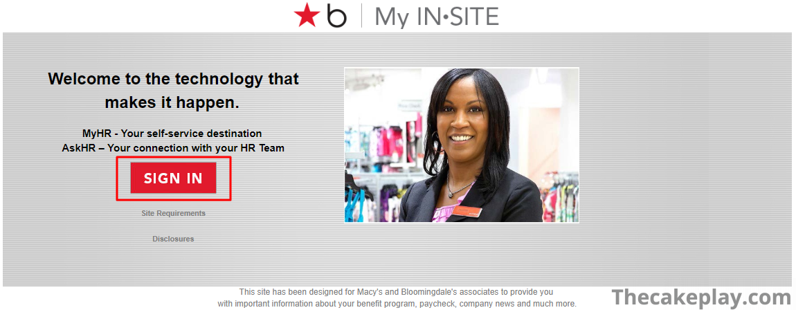 Macys Insite – My Insite – Macy's Employee Connection Login