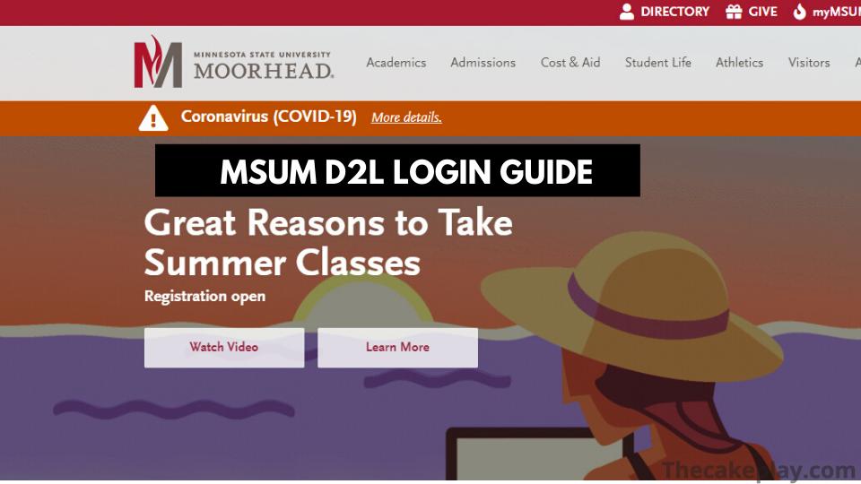 Msum D2l Login – D2l Brightspace Msum Sign in Guide