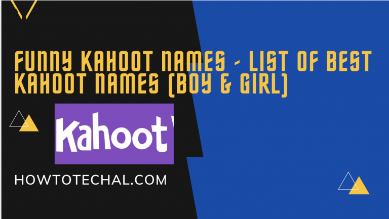 Funny Kahoot Names – List of Best Kahoot Names (Boy & Girl)