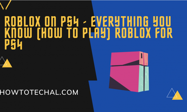 Roblox for PS4