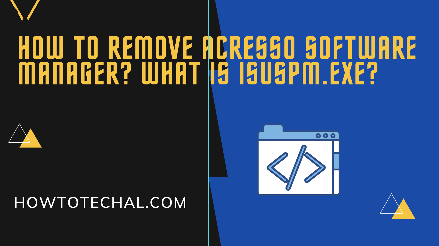 How to Remove Acresso Software Manager? What is isuspm.exe?