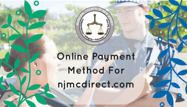 NJMCDirect Pay Traffic Ticket Online