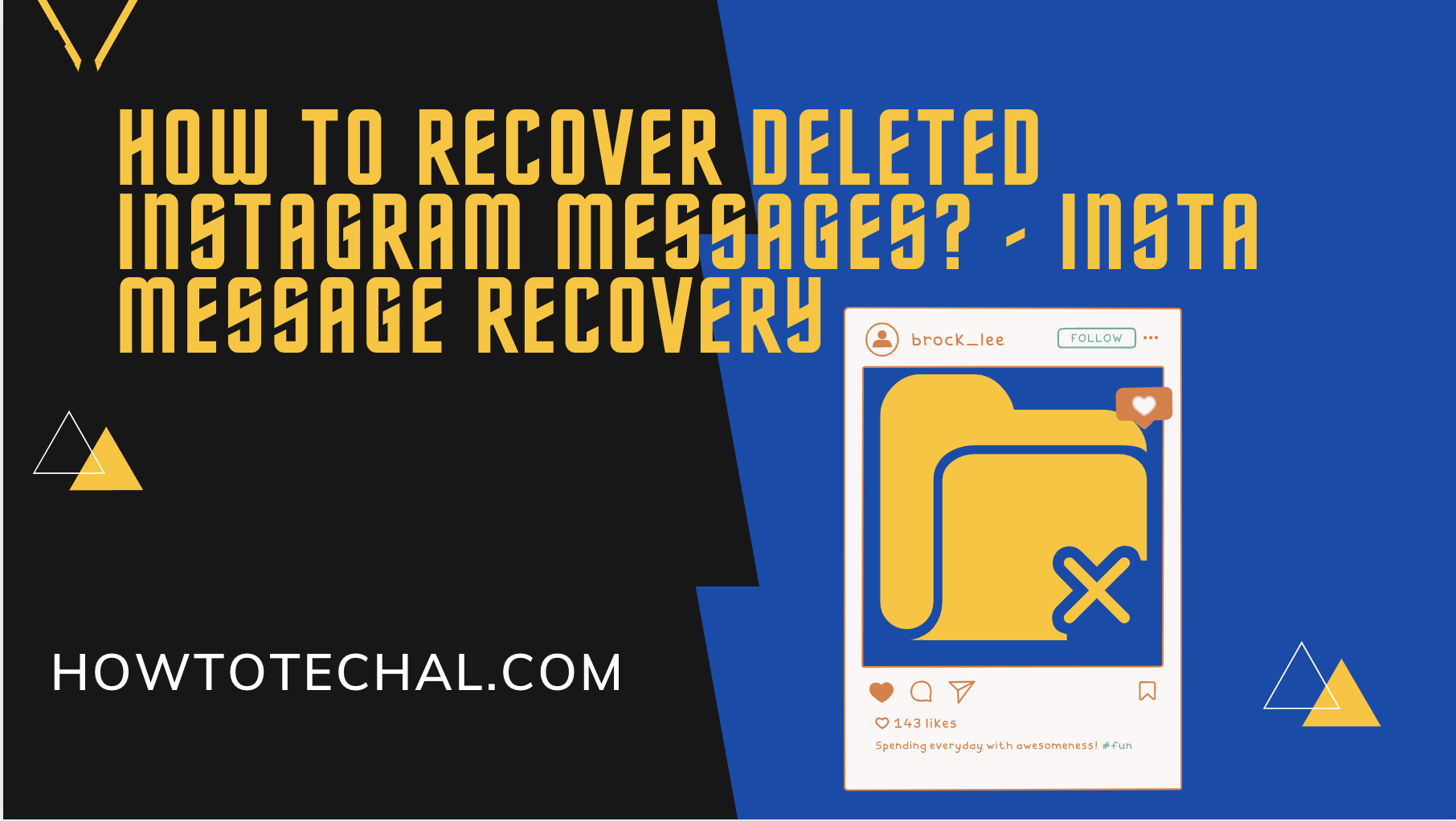 How to Recover Deleted Instagram Messages? – Insta Message Recovery