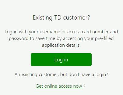 TDCardServices Login