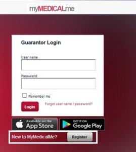 MymedicalMe login