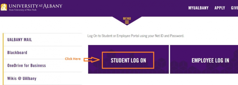 MyUAlbany Login Student – University at Albany-SUNY