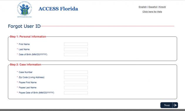 myaccessflorida access
