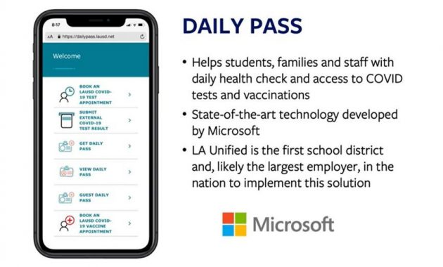 daily pass LAUSD