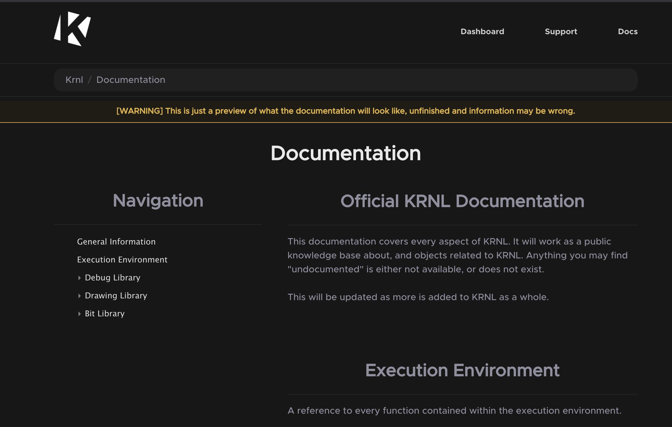Krnl.ca Requirements