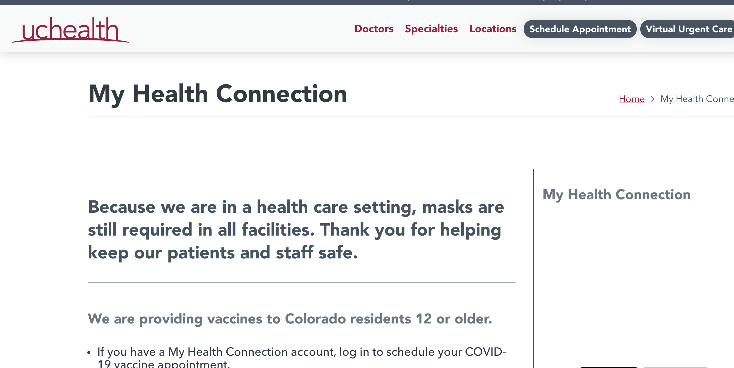 MyHealthConnection