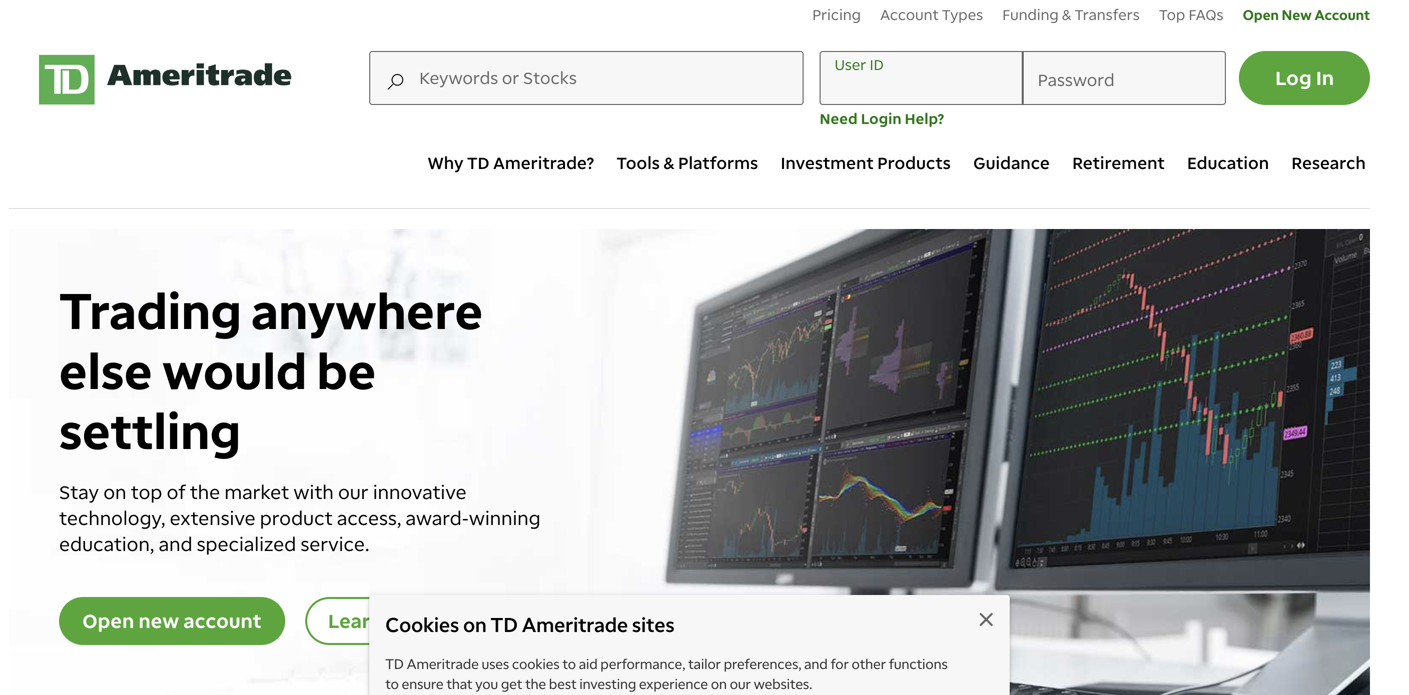 TD Ameritrade Login – How to Sign up Account Online
