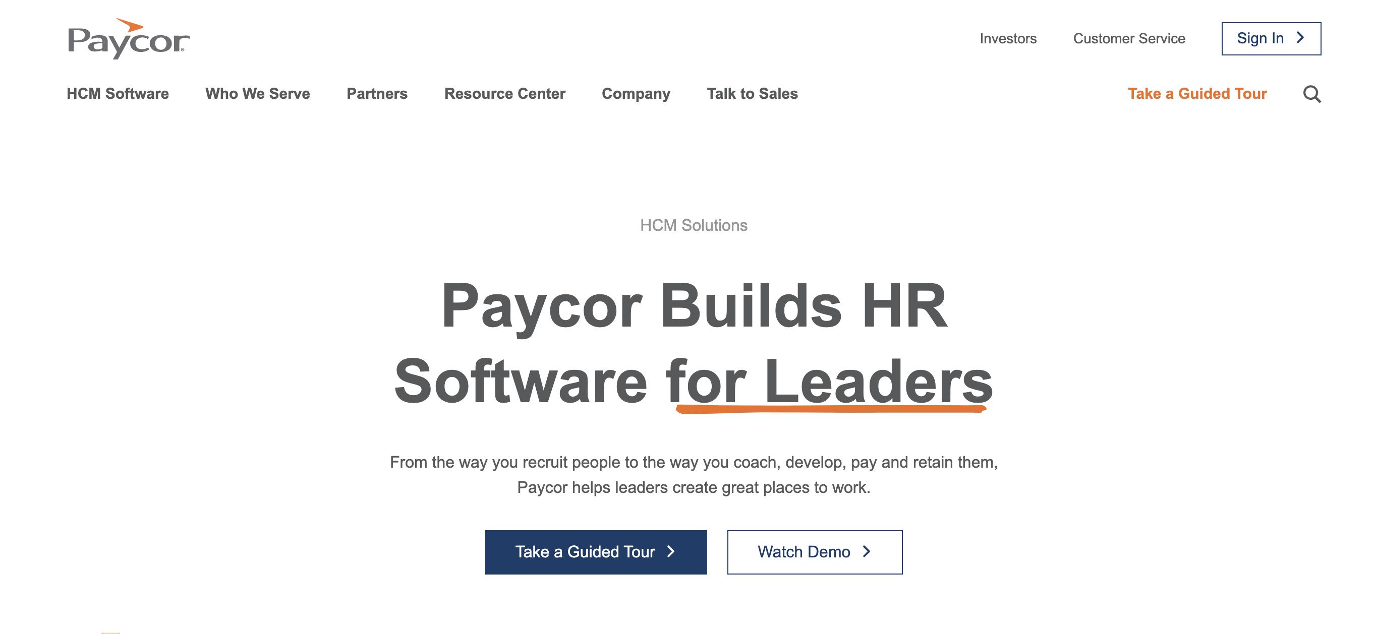 Paycor Company